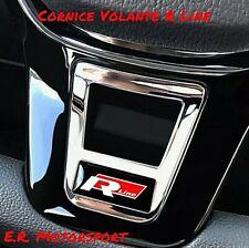 Logo Abs Cromato volante R Line RED Volkswagen Golf Jetta Scirocco Passat Tiguan