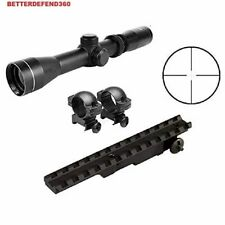 GOTICAL 2-7x32 Long Eye Reticle Relief Scope + Mauser K98 Rifle Weaver Picatinny