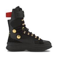 Puma Women's Deva Boot X Balmain Puma Black Sneaker Boots 37217801 NEW!