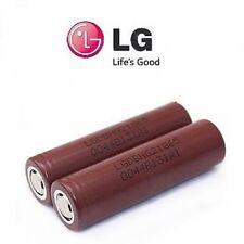 2 X GENUINE LG HG2 18650 3000 MAH20/30A HIGH DRAIN IMR RECHARGEABLE Li BATTERIES