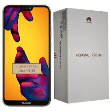 NUOVO Con Scatola Huawei P20 Lite 64GB ANE-LX1 GOLD DUAL-SIM Sbloccato Di Fabbrica 4G SIMFREE