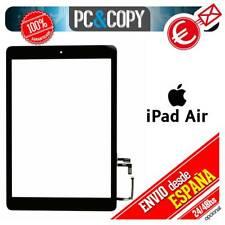 R1244 PANTALLA TACTIL IPAD AIR NEGRA TOUCH SCREEN iPadAir + ADHESIVO Y BOTON HOM