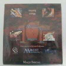 VHTF MtG Magic FBB BB Black Border 4th Beta Portuguese Sealed Starter Deck Box