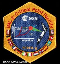 ESA - NON COMMERCIAL  IML 2 CRITICAL POINT FACILITY - MICRO - G - SHUTTLE PATCH