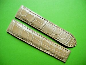 CARTIER  - ORIGINAL BRAND NEW BEIGE CROCO LEATHER - 18mm