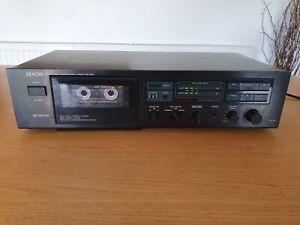 Denon DR-M07 Cassete Deck VGC Tested Boxed Dolby B&C 1987 Full Logic Bias