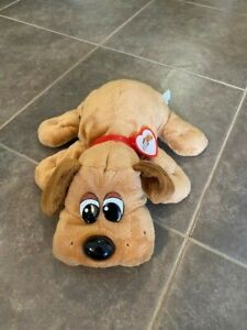 Hasbro Pound puppy plush dog brown