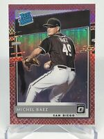 MICHEL BAEZ ⚾️ 2020 Donruss Optic Rated Rookie Red Snakeskin #68/88 *Padres* 🔥