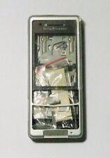 silver Fascia facia Housing faceplate cover case for Sony Ericsson C510i Silver