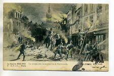 MILITARIA 1032 Guerre 1914 TERMONDE Militaires Allemands incendiaires