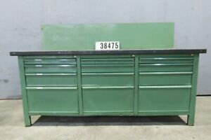 Werkbank Werktisch Arbeitstisch Packtisch Retro Vintage Loft Design #38475