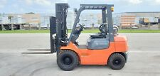 Toyota Forklift 5000 Lbs 7fgu25 Pneumatic Tires