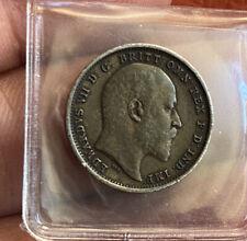 Edward 4 Pence 1902 Grade GEF