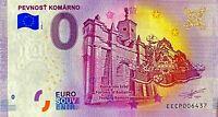 BILLET 0  EURO PEVNOST KOMARO SLOVAQUIE 2020 NUMERO DIVERS