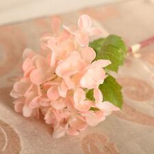 Rose Silk Flowers Artificial Hydrangea Bouquet Wedding Bridal Party Home Decor@