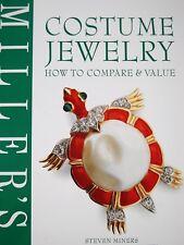 Book: Costume Jewelry-PREZZO-determinazione libro da collezione GIOIELLI GIOIELLI SPILLE