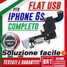 "FLAT FLEX DOCK MODULO RICARICA USB PER IPHONE 6S 4,7"" PORTA CONNETTORE 24H!!!"