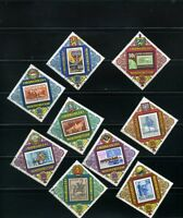 stamp on stamp,- ''COMECON''POSTES AND COMMN. MONGOLIA   {9} 1973