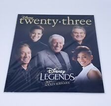 Disney Twenty Three D23 Magazine Fall 2017 Sealed Disney Legends 30 Anniversary