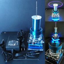 Mini Music Tesla Coil Plasma Wireless Power Transmission Speaker + Power Kits US