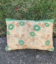 Auntie Oti vintage kantha Quilt Throw pillow Indian India