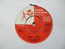 "LITTLE BOBBY REY Rockin' J Bells/Dance Of The New Year UK 7"" EX Cond"