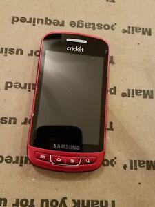 samsung cricket phone schr720