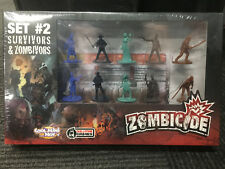 Zombicide Set #2 Survivors and Zombivors Sealed New !Rare Kickstarter Exclusive!