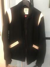black visvim baseball jacket