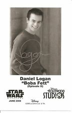 2008 Disney Star Wars Weekend Daniel Logan (Boba Fett Episode II) Photo