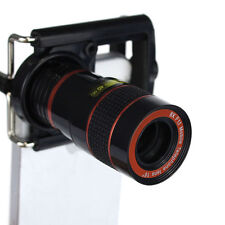 8X Zoom Telescope Wide Angles Macro Fish Eye Lens Clip for iPhone 5G 5S Favored
