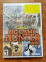CABELA'S BIG GAME HUNTER 2010 – NINTENDO WII – VIDEO GAME