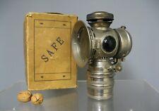 Ancienne lampe à carbure Safe. Grand modèle. Avec boite d'origine.