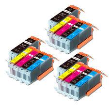 15 PK Printer Ink Cartridge for Canon PGI-250 CLI-251 Pixma MG6620 MX922 MX722
