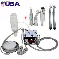 4 Hole Portable Dental Air Turbine Unit Compressor Use High Low Speed Handpiece