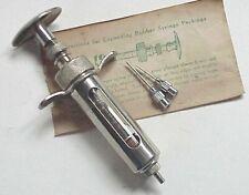 VERY Vintage Veterinary Syringe