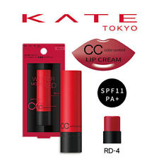 [KANEBO KATE] WINTER MODE RED CC Color Control RD-4 Lip Cream SPF11 JAPAN NEW
