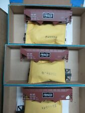 K&D SALE*  SL-SF FRISCO 34' 2-Bay Hopper Car KITS (3-pack/Special Run) NIB