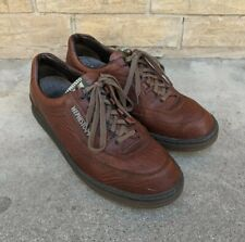 MEPHISTO MATCH RUNOFF Brown Leather Soft Air Oxfords Walking Shoes Men's 11 EUC