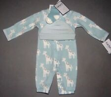 Baby boy clothes, Newborn, Carter's 3 piece Converter Gowns set