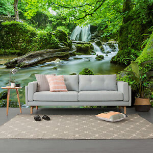 3D Green Forest Tree Plants Self-adhesive Bedroom Wallpaper Wall Murals Photo