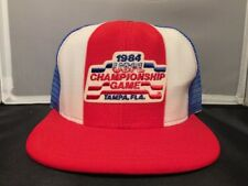 USFL Championship Game 1984 Truckers Hat Cap