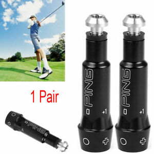 2 Pack of Ping OEM Shaft Adapters .335 G30 Drivers and Woods RH with Epoxy Kit!