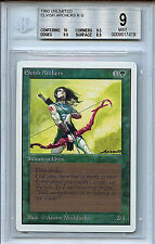 MTG Unlimited Elvish Archers BGS 9.0 (9) Mint Magic The Gathering WOTC 7419