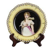Berlin KPM Porcelain Portrait Plate Lot 270M