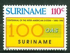 Suriname Surinam 1990, Organization of American States, SC# 878, MNH 2713