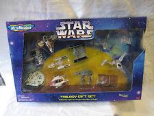 1996 Micro Machines Space STAR WARS Trilogy Slave I FALCON X-Wing mib Galoob mip