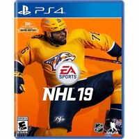 NHL 19 (Playstation 4 PS4) Brand New Factory Sealed