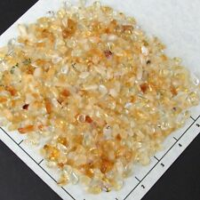 CITRINE 7-14mm tumbled 1/2 lb bulk stones quartz Brazil good color
