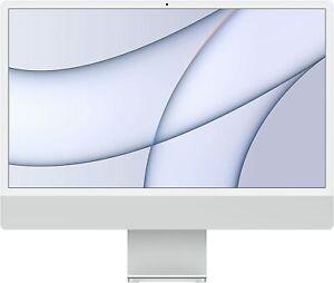 """Apple iMac 24"""" (512GB SSD, Apple M1, 3.20GHz, 8GB, 8-Core GPU) Silver - MGPD3B/A"""
